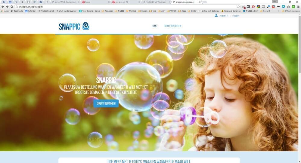 Snappic webmodule