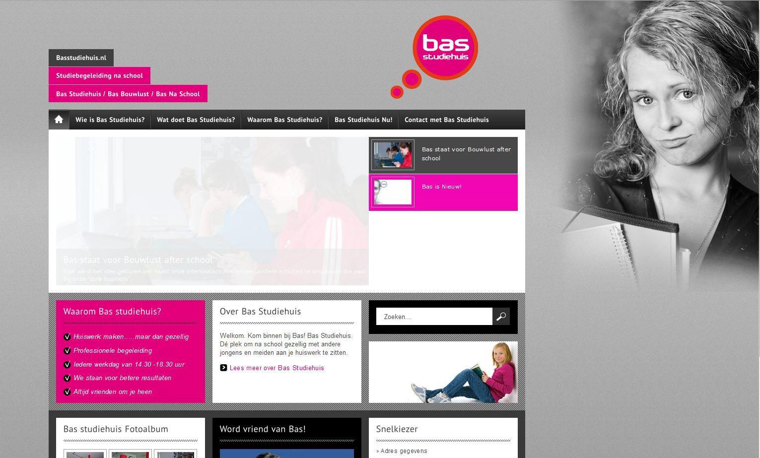 Bas Studiehuis, in Oegstgeest, is een studiecentrum voor middelbare schoolleerlingen.