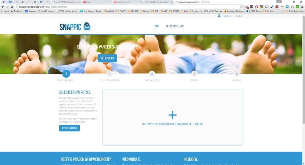 Bestel je foto's nu nog makkelijker met de Snappic webmodule