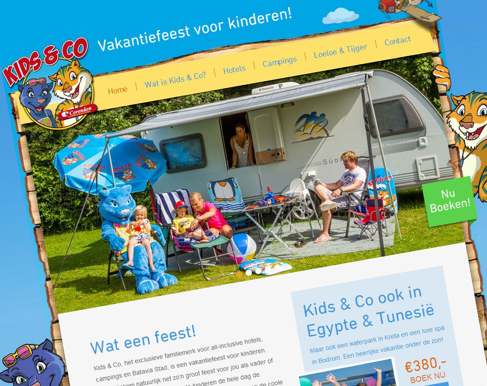 Kids & Co website