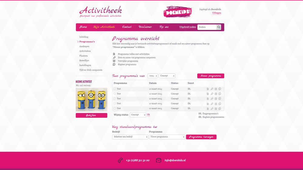 Restyle DoenKids 2015 - screen 4