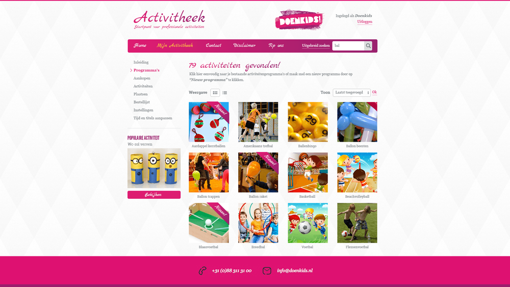 Restyle DoenKids 2015 - screen 2
