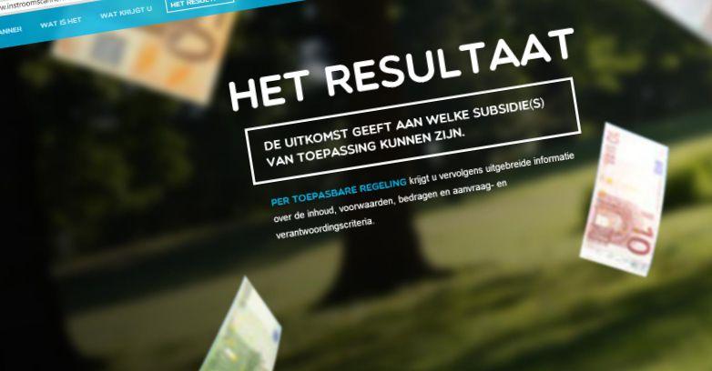 Instroomscanner.nl - wat levert het op