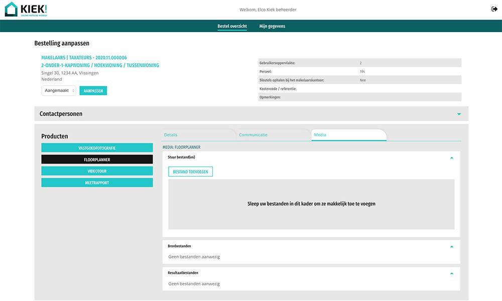 kiek systeem productpagina