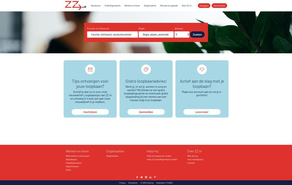ZZ vacaturebank - home