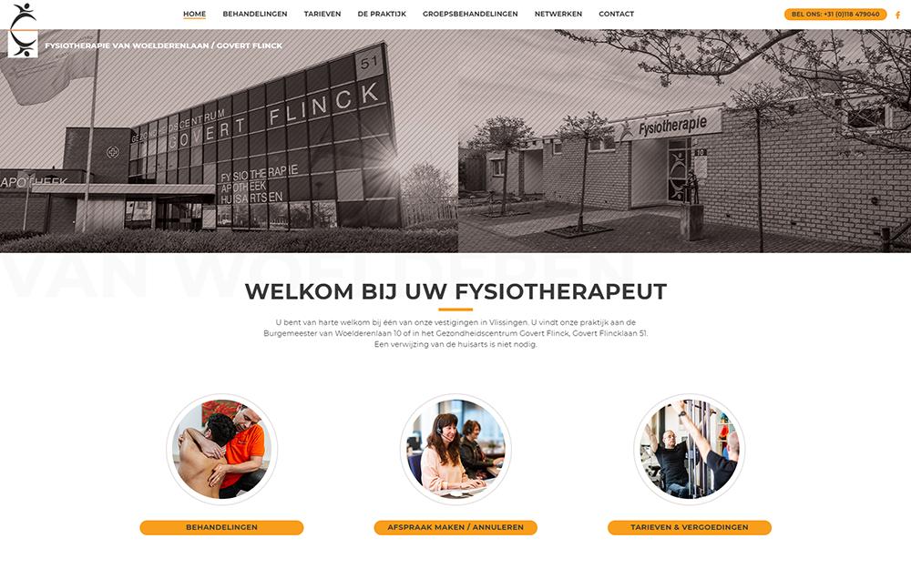 nieuwe website homepage ontwerp