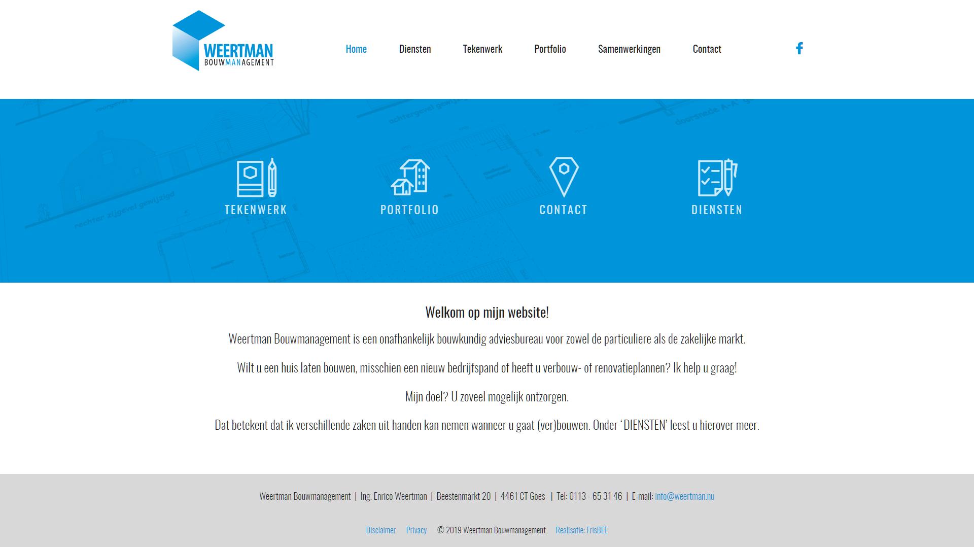 Homepage Weertman