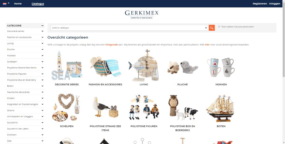 Gerkimex catalogus
