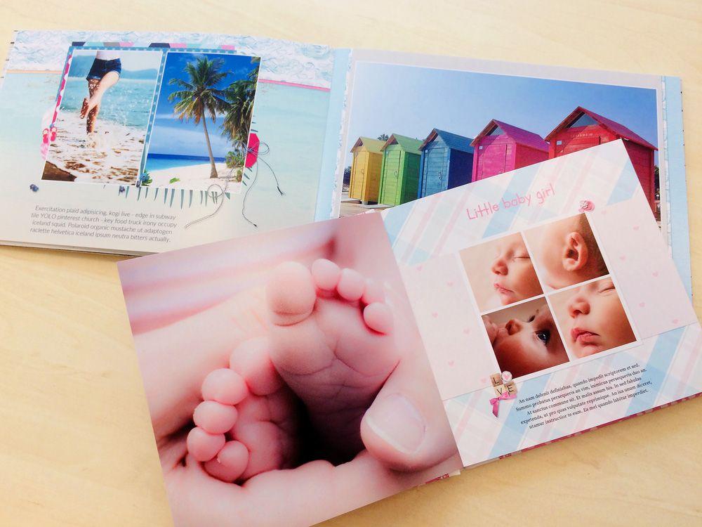 WeBook fotoalbum - babyboek en vakantieboek