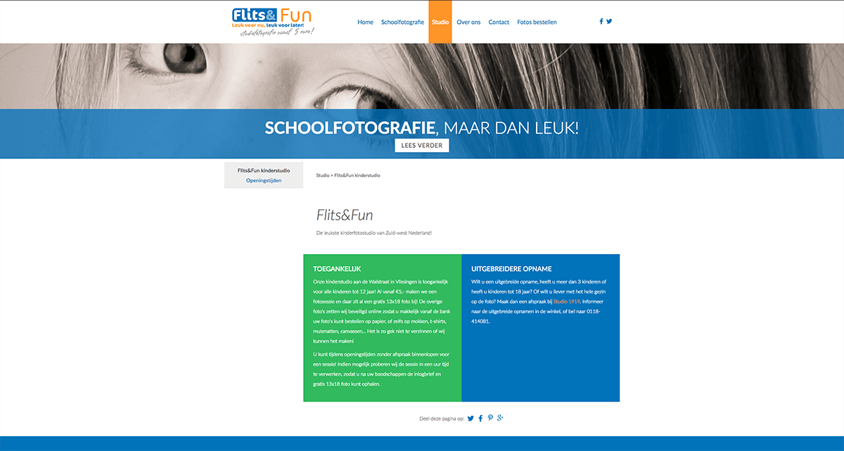 Website Flits en Fun