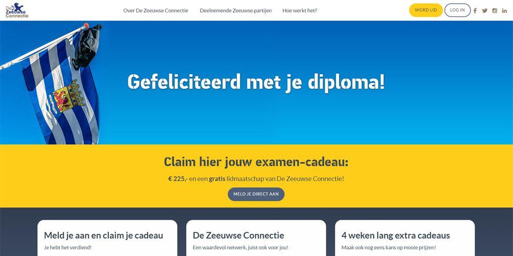 voorbeeld website zeeuwseconnectiekado.nl