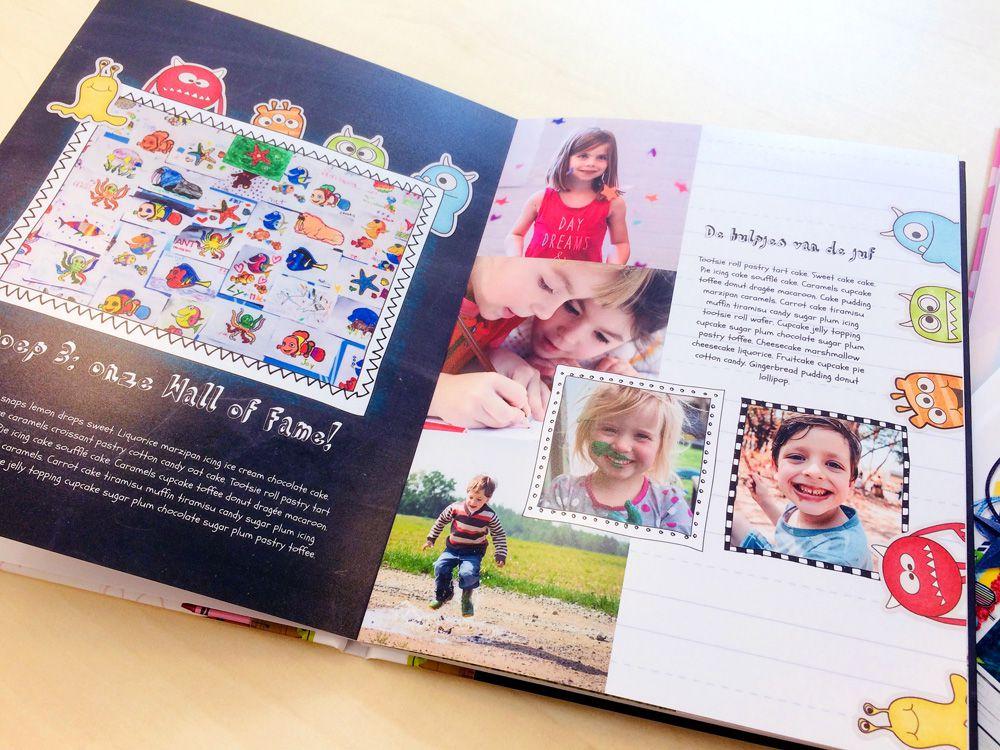 WeBook fotoalbum - vrienden- en/of klassenboek