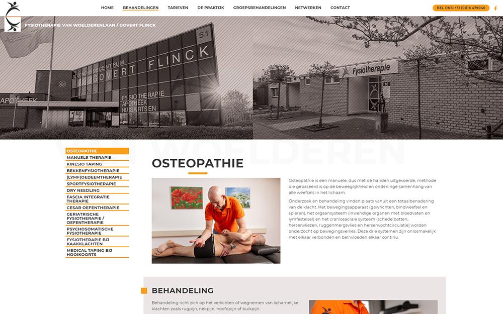 nieuwe website behandelingen pagina