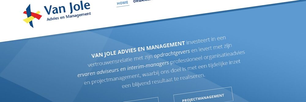 Van Jole - Restyling website