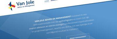 Van Jole - Restyling website