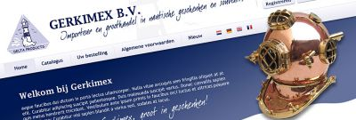 Gerkimex - Nieuwe website en back office oplossing