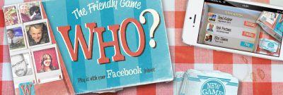 Who? - Speel Who? met je Facebookvrienden