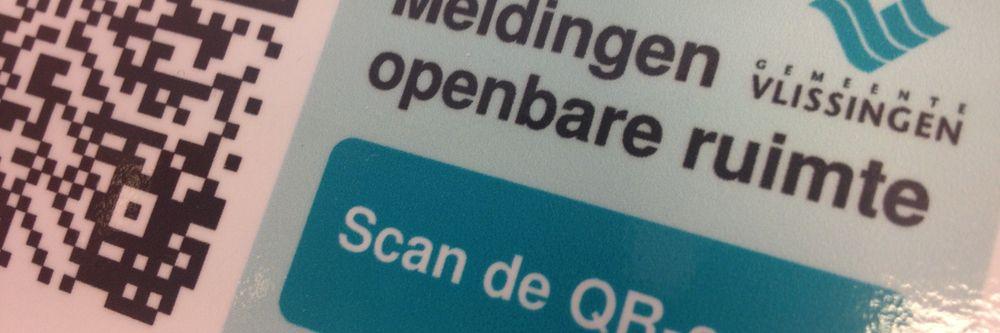 Gemeente Vlissingen - Meldingen openbare ruimte via QR code