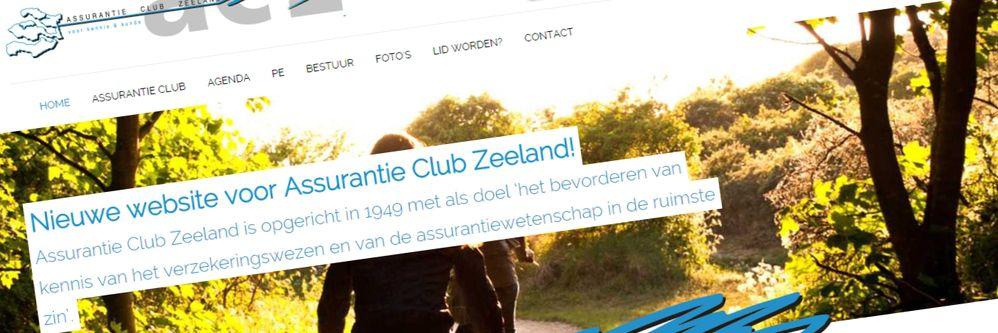 Assurantie Club Zeeland - Nieuwe website + backoffice