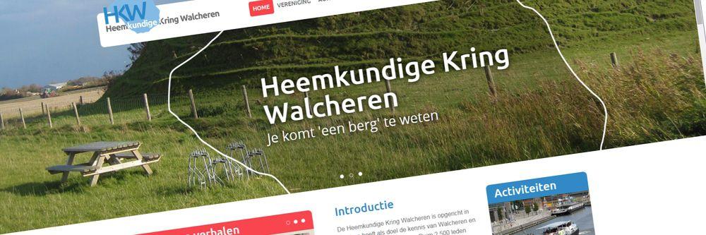 Heemkundige Kring Walcheren - Nieuwe responsive website