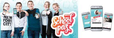 Digitale SchoolPas - Milieuvriendelijke schoolpas