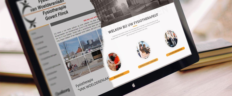 Fysiotherapie van Woelderenlaan / GovertFlinck - Nieuwe website