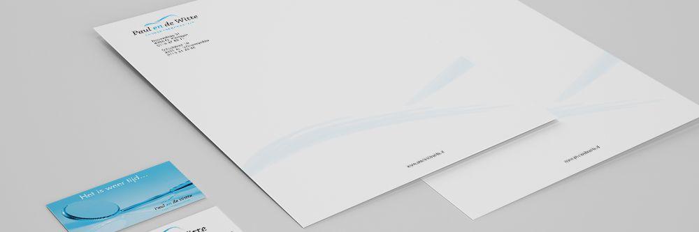 Tandartspraktijk Paul en de Witte - Huisstijl & drukwerk