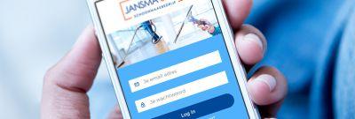 Jansma & Dik - app urenregistratie
