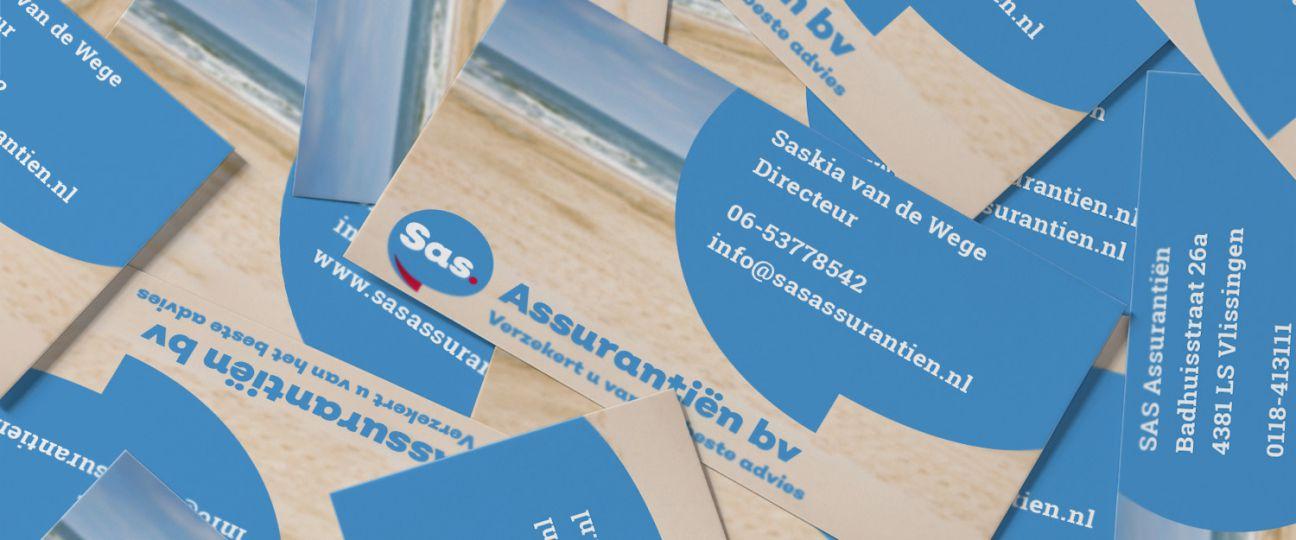 SAS Assurantiën - Vormgeving en drukwerk