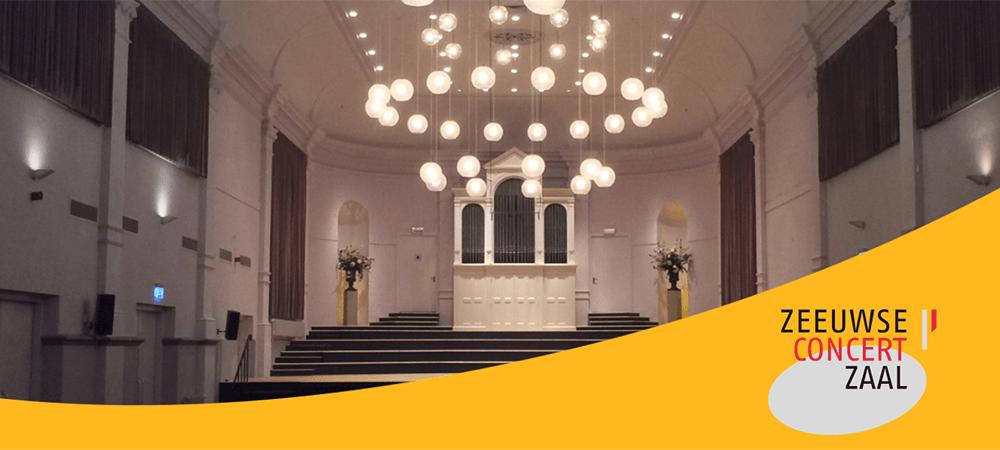 Zeeuwse Concertzaal - Agenda-gedreven website