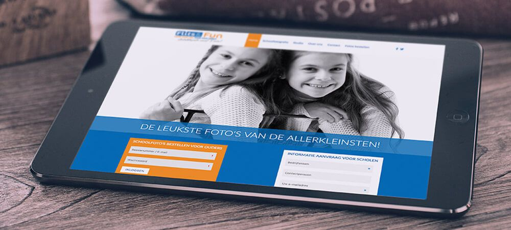 Flits en Fun - website, bestelmodule, backoffice