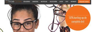 Tilroe Optiek - responsive website