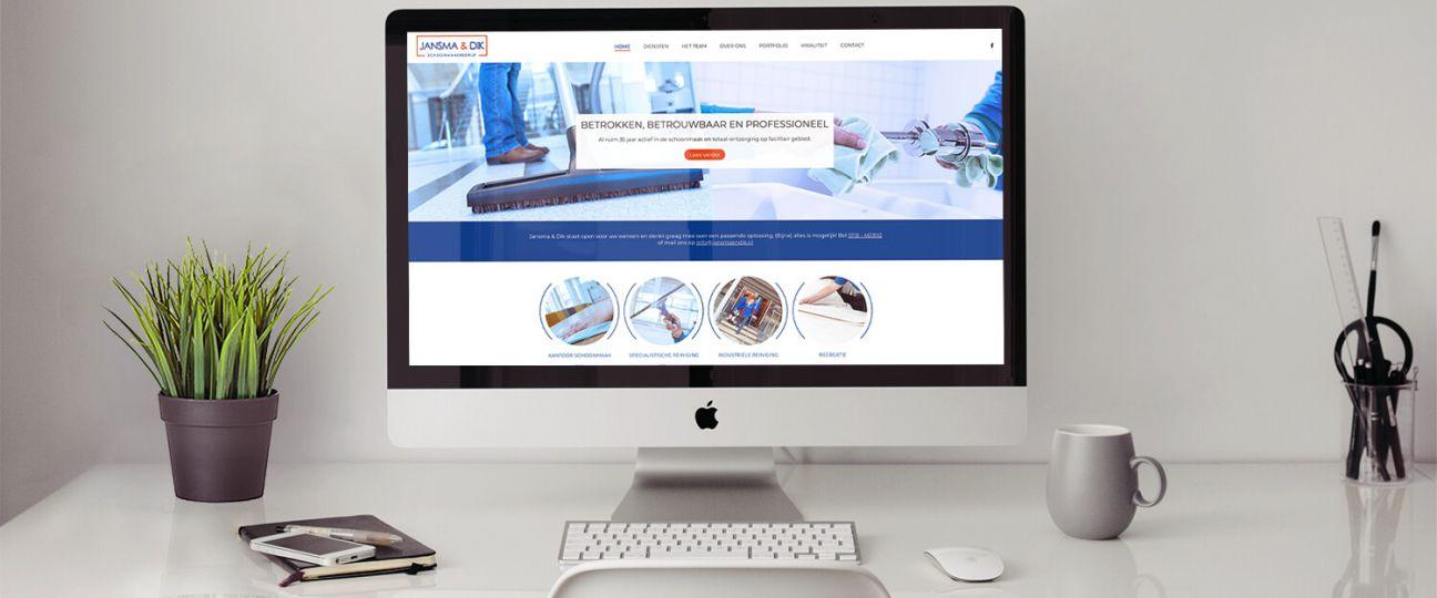 Jansma & Dik - frisse nieuwe website