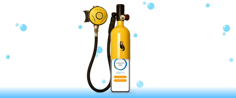 vuljeduikfles - innovatieve duik app