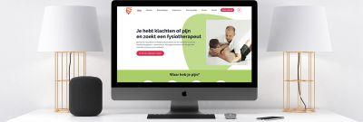 Fysio for You - nieuwe website