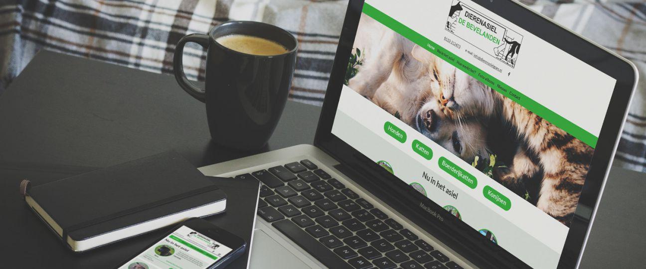 Dierenasiel Goes - website, cms en hosting
