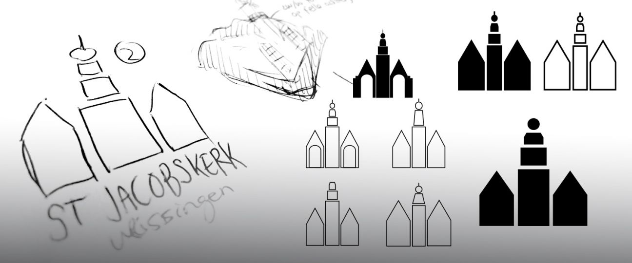 Sint Jacobskerk - logo ontwikkeling