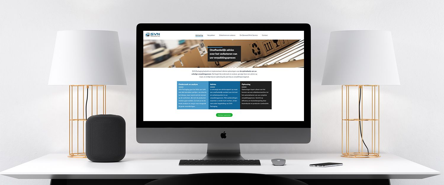 SVN Packaging - nieuwe website
