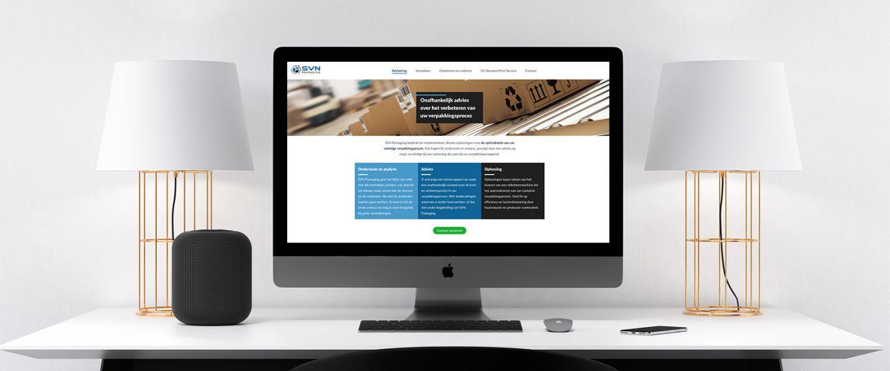 SVN Packaging - nieuwe website