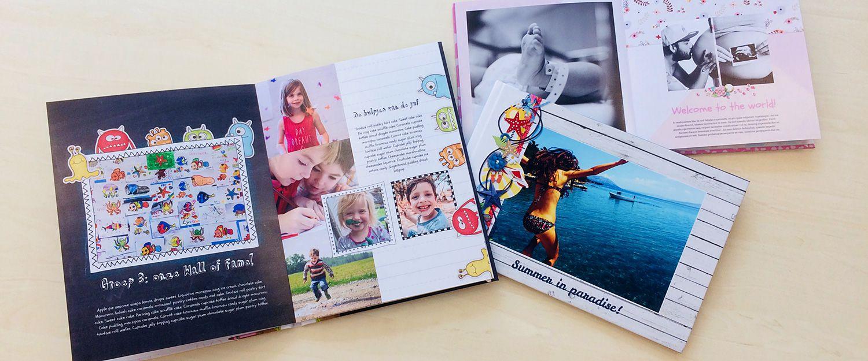 WeBook - exclusieve thema fotoboeken
