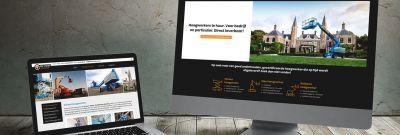 De Visser Verhuur - website met SEO teksten